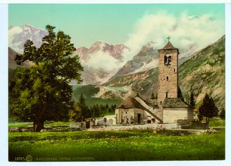 18787 Macugnaga. Chiesa di Peccetto