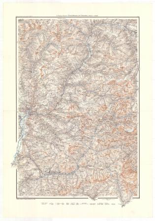 G. Freytag & Berndt's Übersichtskarte der Dolomiten : blatt 1