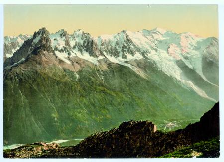 1325 La chaîne du Montblanc