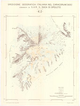 Spedizione geografica italiana nel Caracorum (1929). K 2