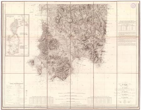Carta dell'isola e regno di Sardegna. [2]