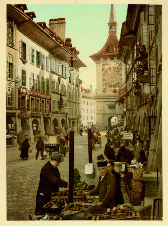 1764 Bern. Zeitglockenthurm
