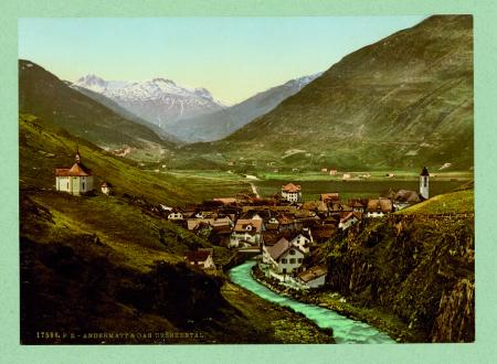 17598 Andermatt & das Urserental