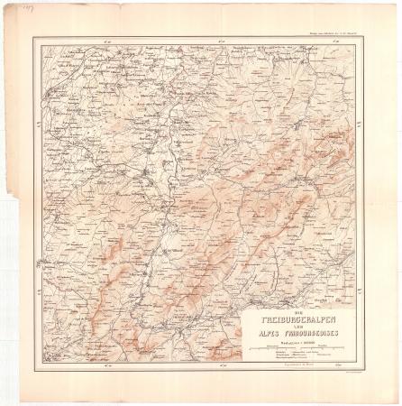 Die Freiburgeralpen = Les Alpes Fribourgeoises