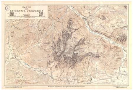 Karte der Leoganger Steinberge