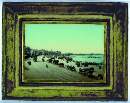 10668 Morecambe. Promenade looking west