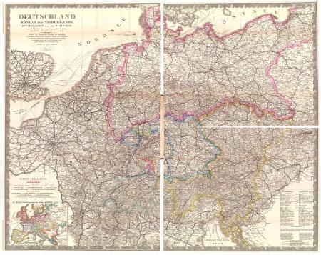 Deutschland, Königr. der Niederlande, Kgr. Belgien und die Schweiz