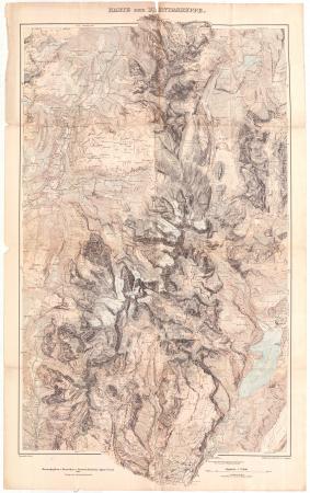 Karte der Brentagruppe