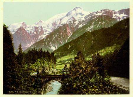8731 Chamonix. Pont Ste. Marie