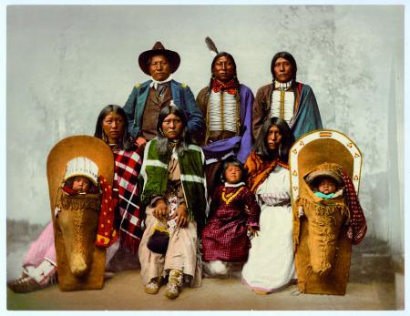 50624 Ute Chief Sevara and Family