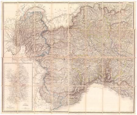 [Carta del Piemonte, Genovesato, Savoia]