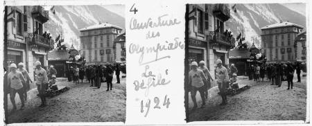 4 Ouverture des Olympiades. Le défilé 1924