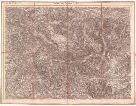 Toblach und Cortina d' Ampezzo : zone 19 col. VI