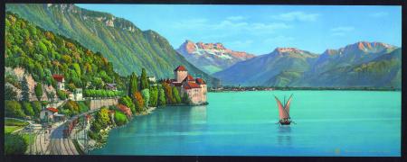 4655 Chillon et la Dent du Midi