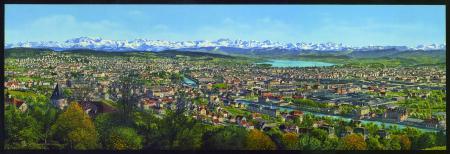 4812 Zürich und die Alpen