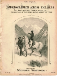 Napoleon's March across The Alps