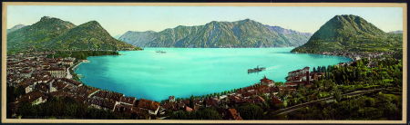 4644 Lugano col San Salvatore e Monte Brè