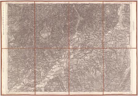 [Belluno und Feltre : zone 21 col. VI]