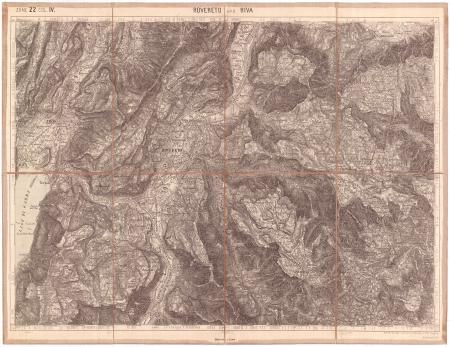 Rovereto und Riva : zone 22 col. IV