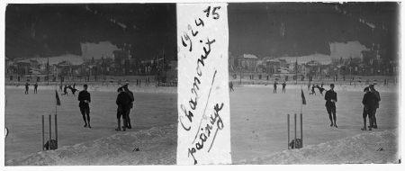 15 1924 Chamonix. Patinage