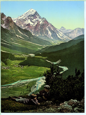 18065 Ampezzaner - Alpen. Monte Antelao.