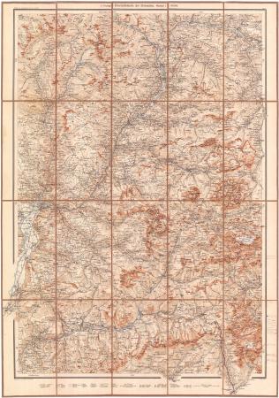 G. Freytag's Übersichtskarte der Dolomiten. Blatt 2