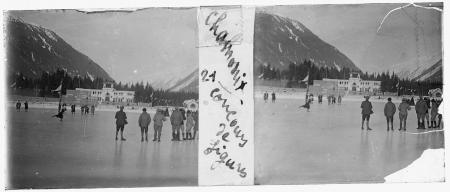 21 Chamonix. Concours de figures