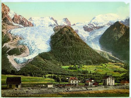 17810 Chamonix. Station et Glacier des Bossons.