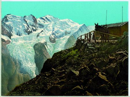 18238 Le Montblanc. Vu du Châlet du Brévent (2525 m)