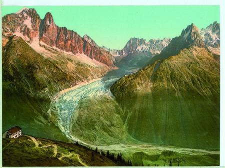 16487 Chamonix. La Flegere et la Mer de Glace.