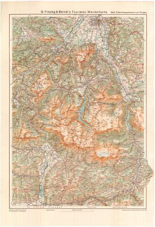 Blatt 10: *Berchtesgadnerland und Pinzgau