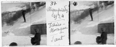 37 Olympiades 1924. Tchèco-slovaque. Saut