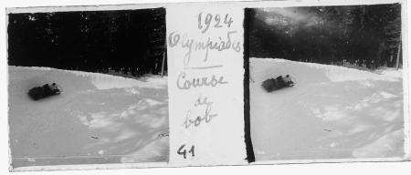 41 1924 Olympiades. Course de bob