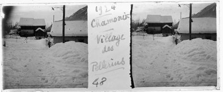 48 1924 Chamonix. Village des Pellerins