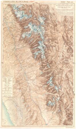 Cordillera Blanca (Perú) : südteil