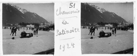 51 Chamonix La patinoire 1924
