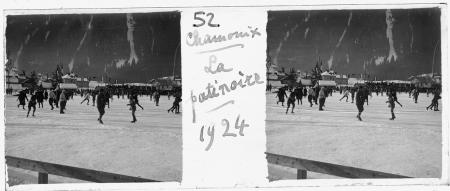 52 Chamonix La patinoire 1924