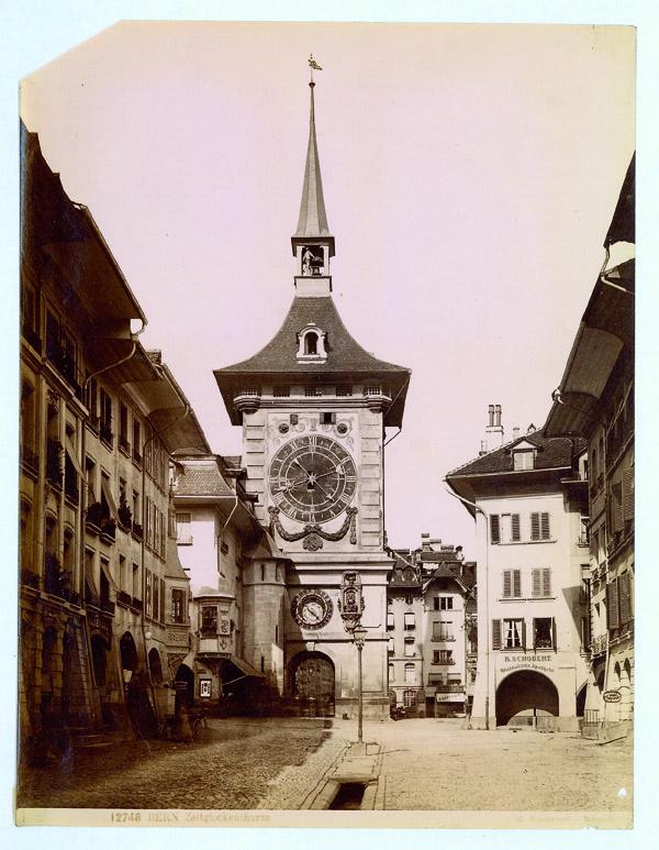 12748 Bern. Zeitglockenturm