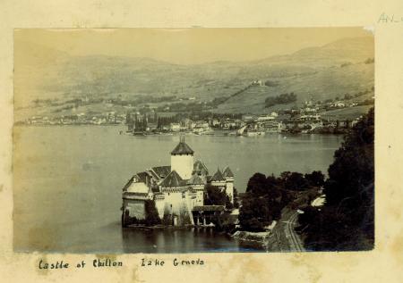 Castle of Chillon Lake Geneva