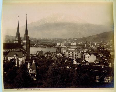[12507 Vierwaldstäettersee Fluelen, 13154 Luzern - Panorama]