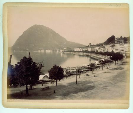 215 Lugano veduta dall'Hotel Washington