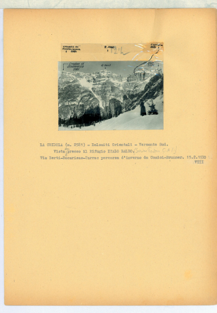 La Cridola - Dolomiti Orientali. Dal Rifugio Italo Balbo