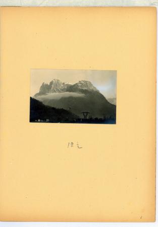 Le Pale di San Lucano. Versante di Agordo.