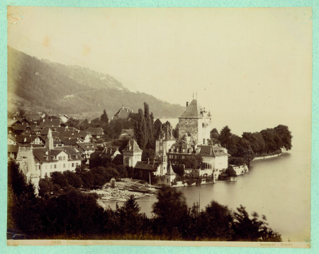 13935 Thunersee. Oberhofen