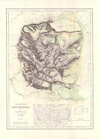 Plano del macizo central de los Picos de Europa