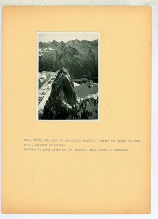 Dalla Cresta del Cadin di San Lucano (m.2839) - Gruppo dei Cadini di Misurina - Dolomiti Orientali