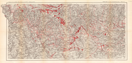 Carta glaciologica delle Alpi Marittime italiane. Tav. 2 (inf.)