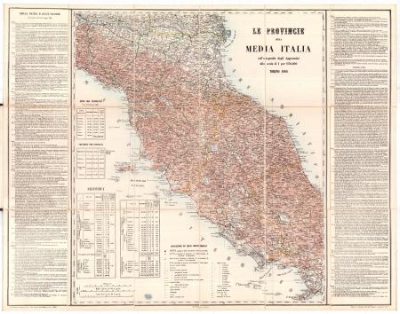 Le Provincie della media Italia