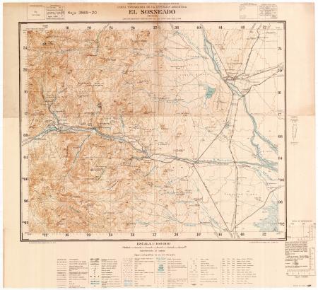 El Sosneado : Mendoza : hoja 3569-20