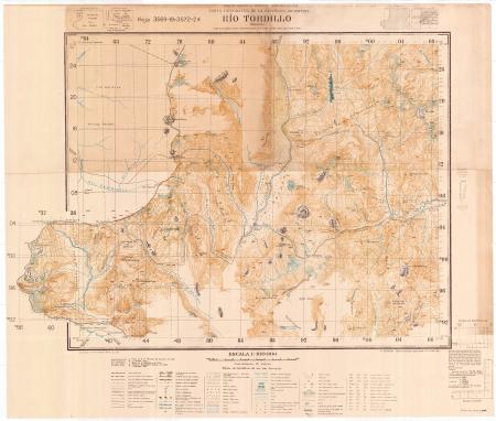 Río Tordillo : Mendoza : hoja 3569-19 y 3572-24